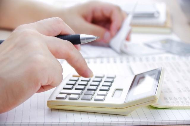 家計簿をつけて生活費を計算