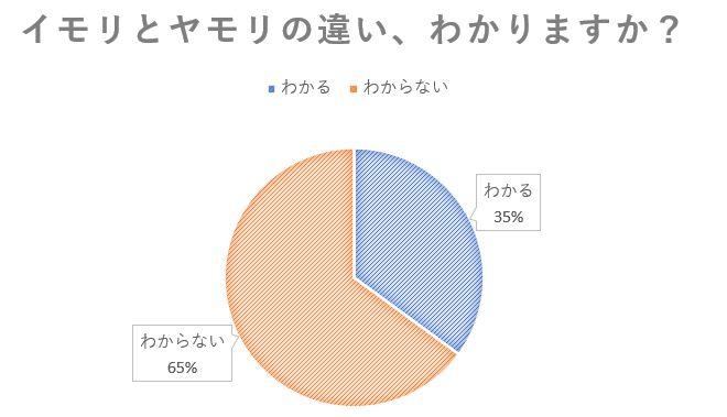 イモリとヤモリの違いに関するアンケート結果:35%の人がわかると回答